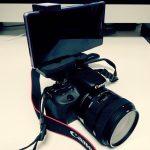 一眼レフカメラにスマホを外付け!自撮り用ディスプレイにしてみた。【その1.導入編】