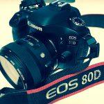 【ブログ撮影機材紹介】CANON EOS 80D導入!【一眼レフカメラ】