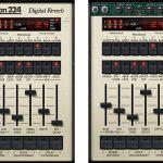 Lexicon 224 Digital Reverbの使い方・設定の説明【プラグイン リバーブ/UAD-2】